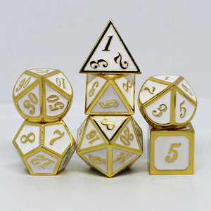 Divine Retribution Metal Dice Set