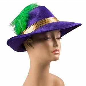 Wear Hats-Mardi Gras