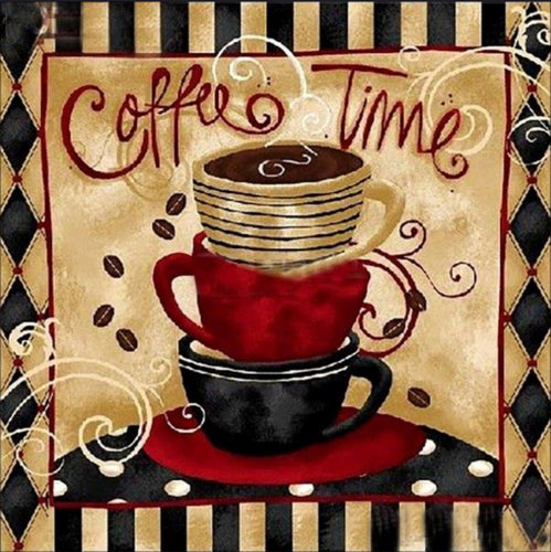 Coffee Time - Diamond Painting