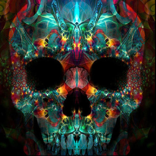 Glam Skull - Diamond Painting