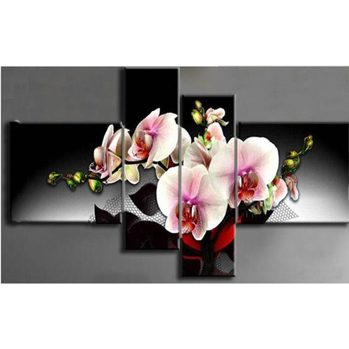 Orchideen Ranke Diamond Painting