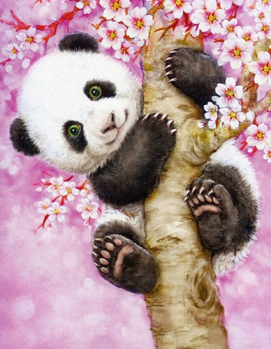 süßer Panda - Diamond Painting