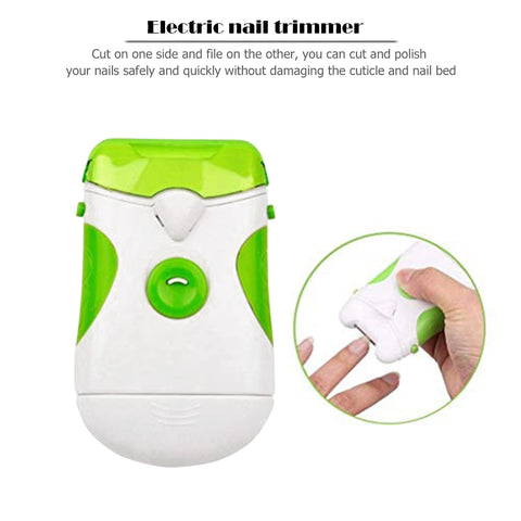 Electric Nail Clippers with Lights