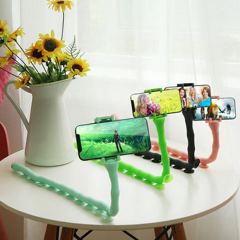 Cute Caterpillar Suction Phone Holder