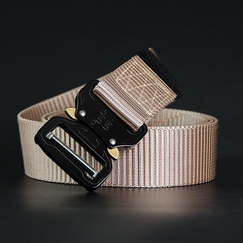 Casual Military Style Nylon/Metal Belt