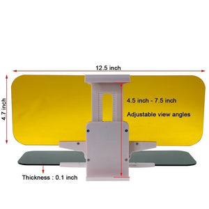 2-in-1 Car Sun Visor