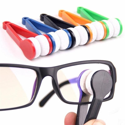 Mini Glasses Microfiber Cleaning Brush