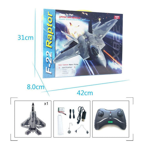 RC Airplanes - F-22 Raptor RC Aircraft