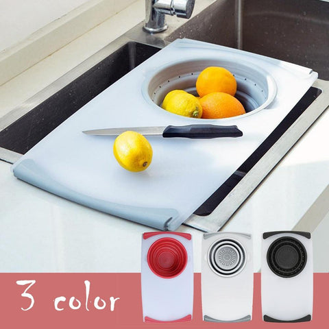 3 In 1 Multi-function Chopping Board