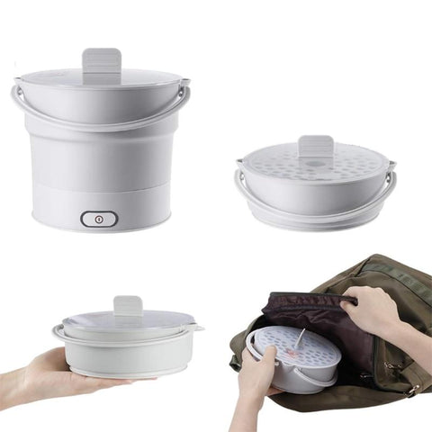 Electric Kettles - Portable Electric Folding Travel Pot