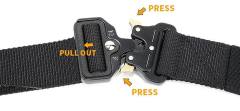 Image of Casual Military Grade Nylon/Metal Belt