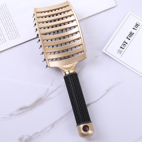 Image of Detangler Bristle Nylon Hairbrush