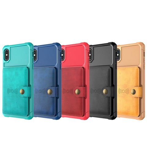 Phone Cases - Luxury Magnetic IPhone Case Wallet