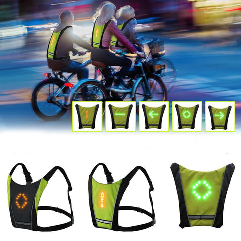 Image of Wireless LED Cycling Vest