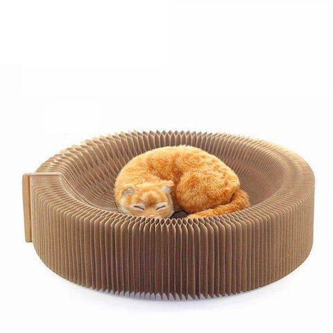 Image of Cat scratcher lounge bed collapsable