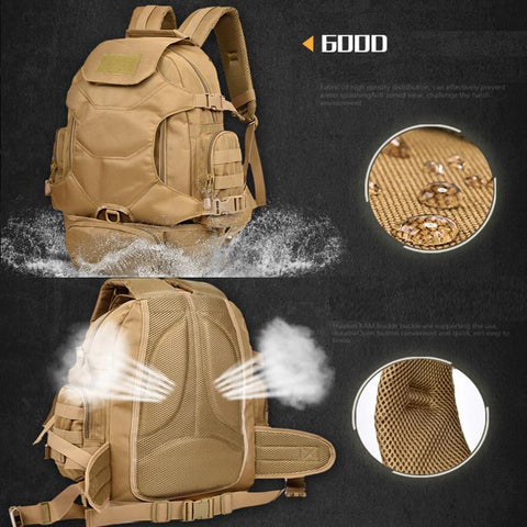 Image of Hunting Bags - Tactical Men's Hiking Travel Backpack