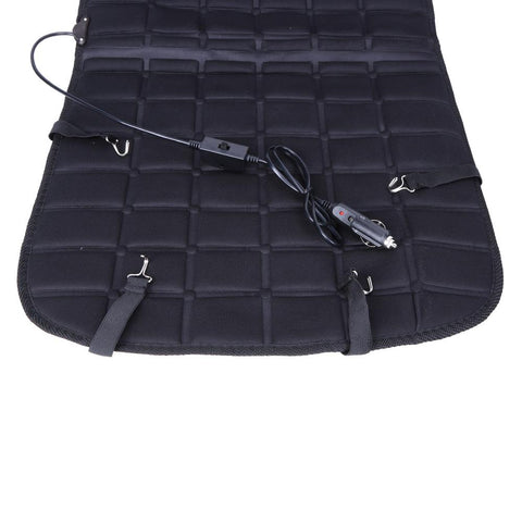 Image of Heated car seat universal cushion 12V - Single or Double