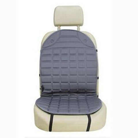 Heated car seat universal cushion 12V - Single or Double