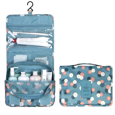 Image of Multi-function travel makeup and cosmetic bathroom storage organizer