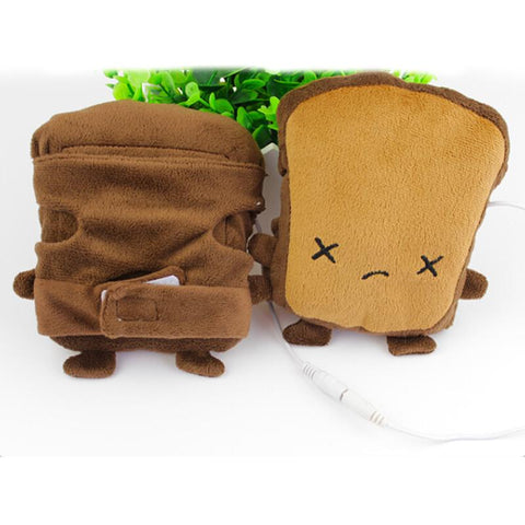 Image of Sad Bread USB Hand Warmer Gloves