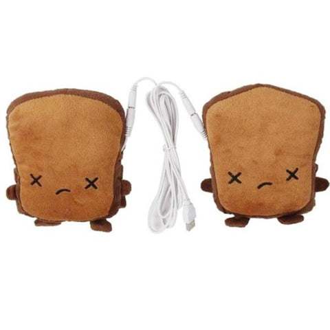 Sad Bread USB Hand Warmer Gloves