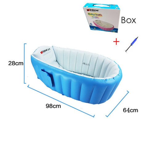 Image of Inflatable Baby Bath Tub