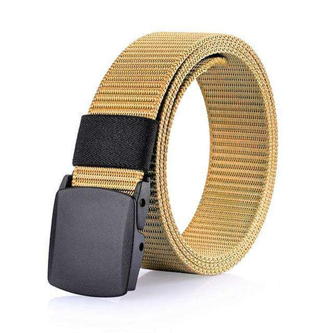 Image of Men's Belts - Casual Military Grade Polymer And Nylon Belt