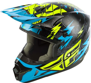 2019 FLY Racing Kinetic Shocked Youth Helmets