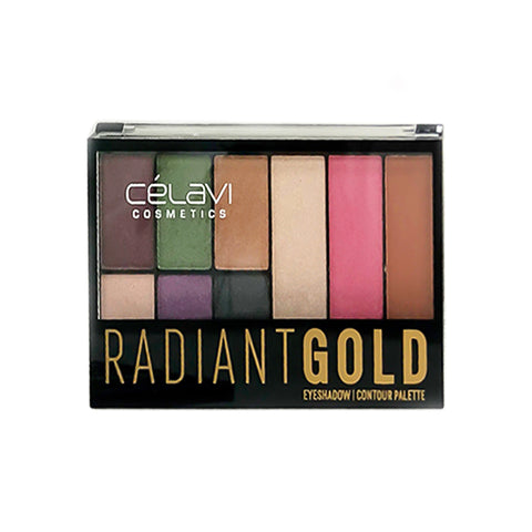 Radiant GOLD Eyeshadow & Contour Palette