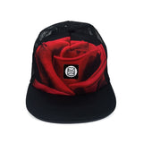 Red Rose Trucker Cap