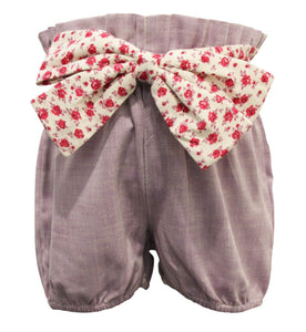Lilac Chambray Bloomer Short