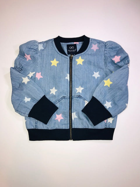 Puff Star Bomber Jacket