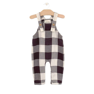 Crinkle Cotton Overall