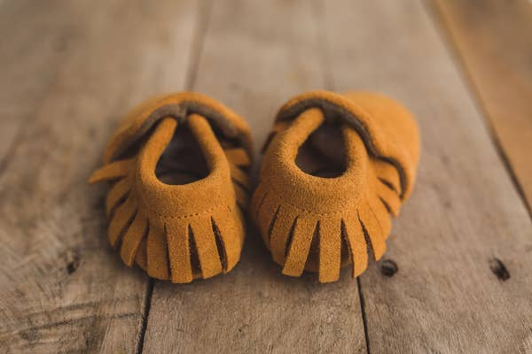 Original Suede Brown Moccasins