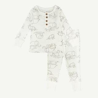 Toddler Elephant Pajamas Set