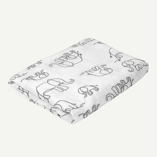 Elephant Swaddle Blanket