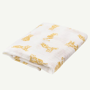 Tiger Swaddle Blanket