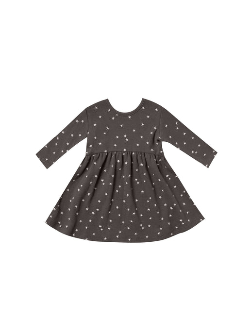 Ribbed LS Dress - Star