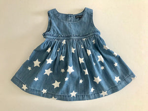 Sleeveless Star Dress w/Bloomer