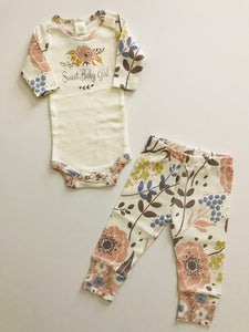 LS Sweet Baby Girl Set