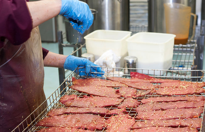 Making Red Chile Beef Jerky