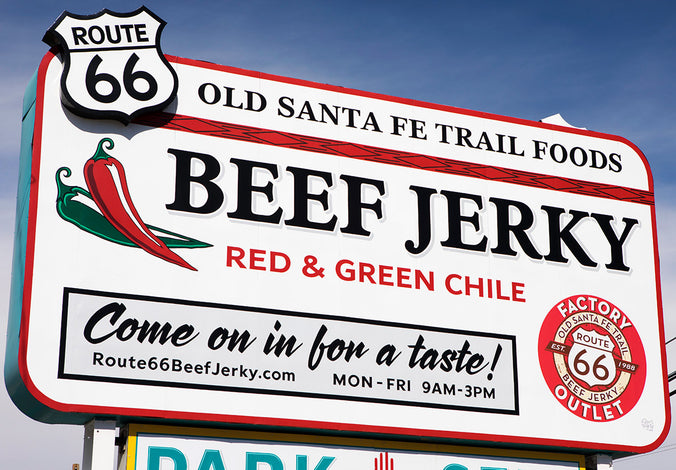 Route 66 Beef Jerky Store