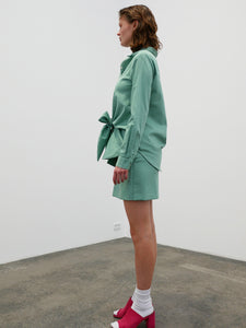Bow Shirt - green