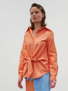 Bow Shirt - orange
