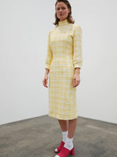 Load image into Gallery viewer, Collar Dress - yellow