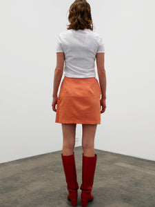 Tie Skirt - orange