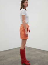 Load image into Gallery viewer, Tie Skirt - orange
