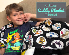 5-Step Cuddly Blanket