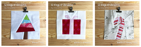 Christmas foundation paper piece quilt pattern