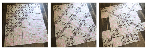 Star Quilt Layout Options